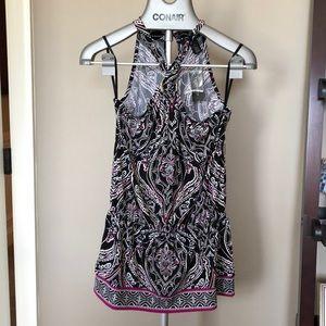 White House/black market printed tunic